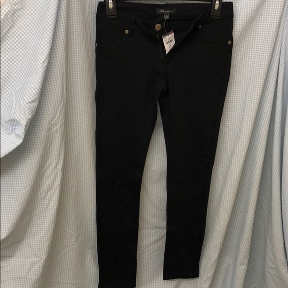 56b56c72a8c Shinestar Pants | Nwt Body Central Stretch Jeggings Black | Poshmark